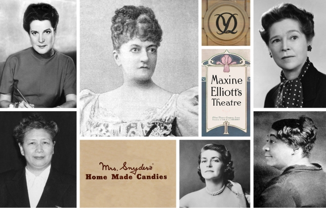 Historic American businesswomen from the collection of Ferret Re