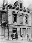 Toul, France. Exterior of the American Red Cross Officer's Rest House